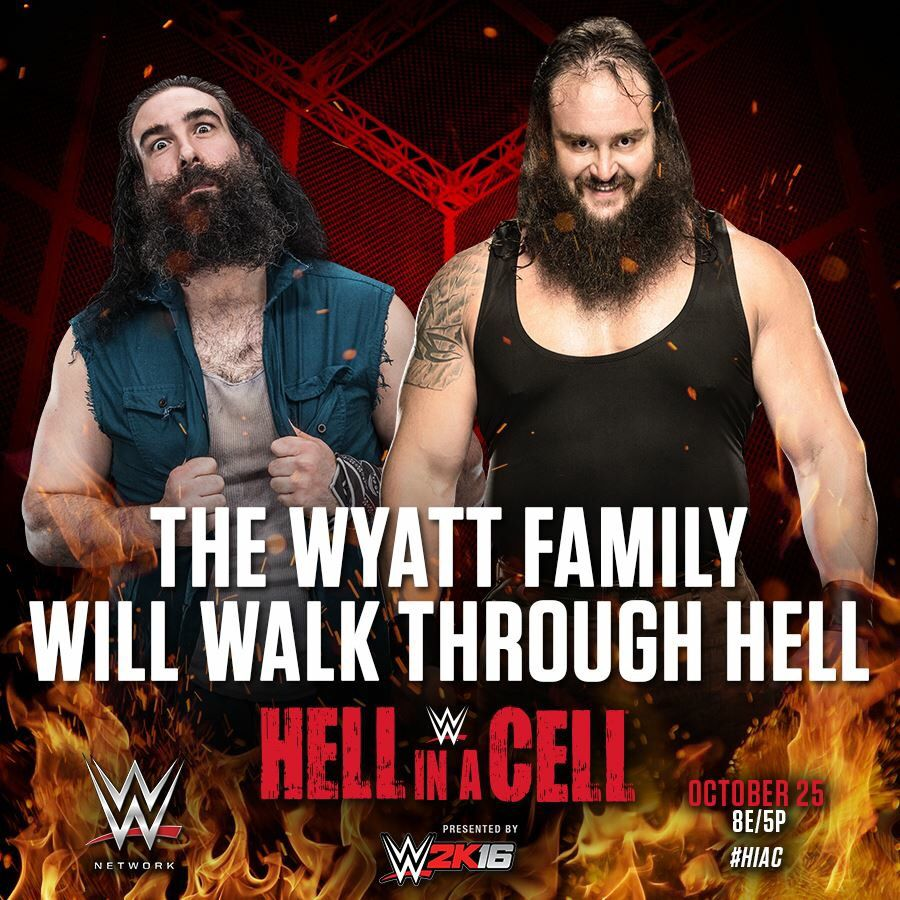 WWE Hell in a Cell 2015: The Wyatt Family will walk through hell.