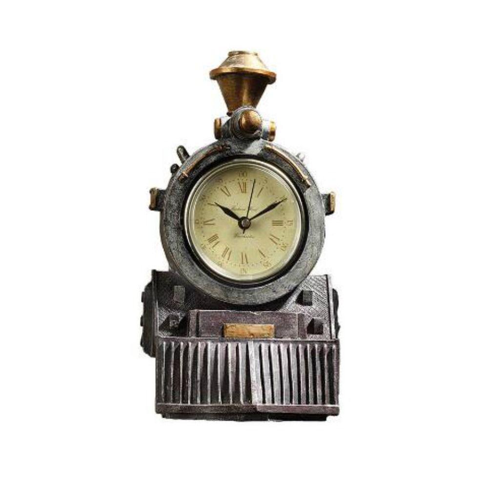 Steam Engine Train Wall Clock Railway Locomotive Western Style Decor PRE-ORDER #designtosc #Western