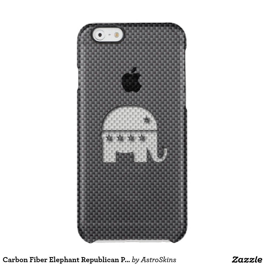 Carbon fiber elephant republican party symbol phone cases carbon fiber elephant republican party symbol biocorpaavc Choice Image