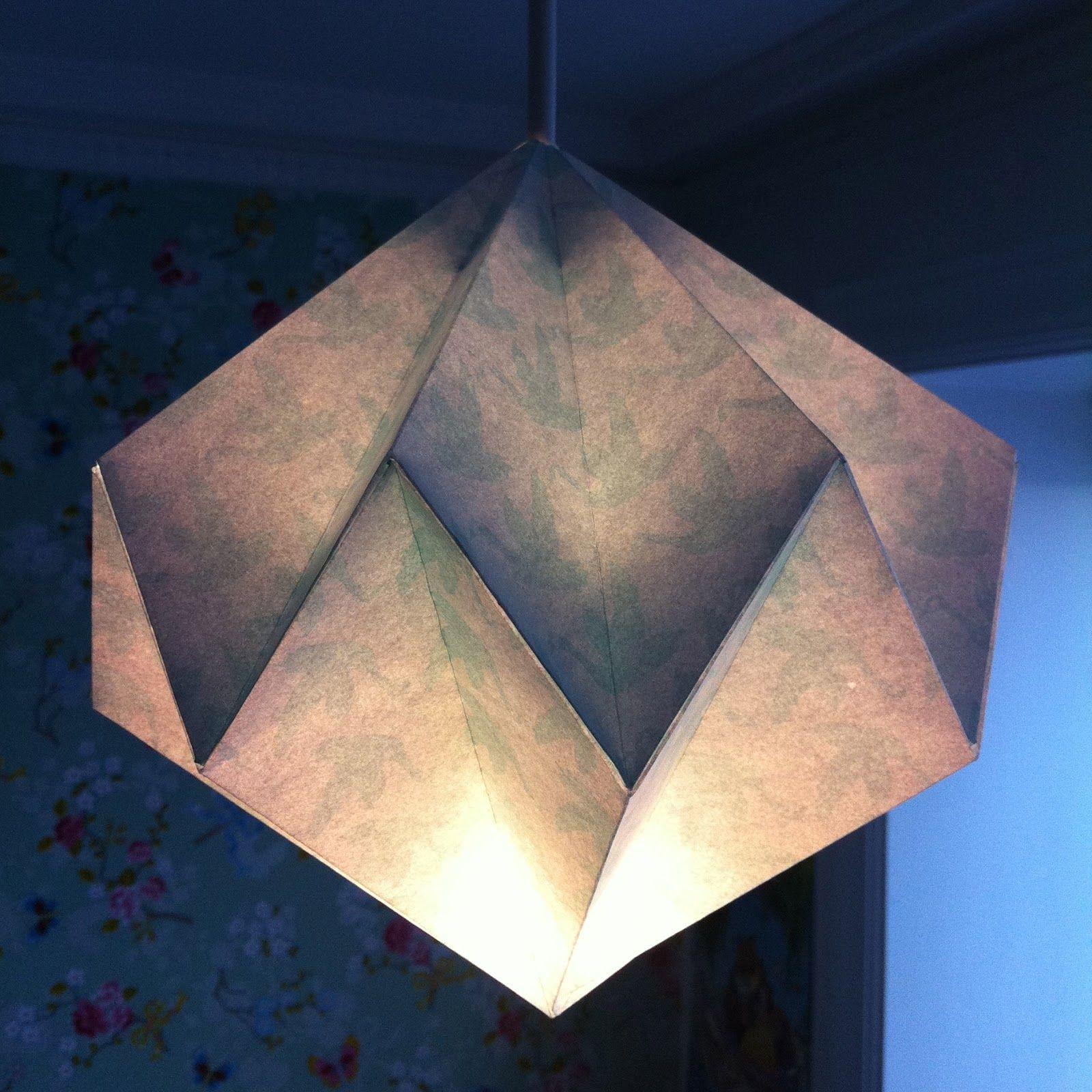 Diamant lampeskærm