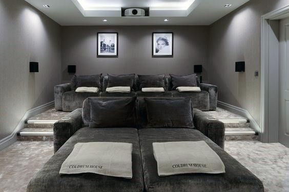 Top 70 Best Home Theater Seating Ideas Movie Room Designs Home Cinema Room Home Cinema Seating Home Theater Seating