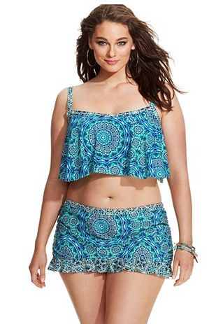 413c9cfd94f0 30 Gorgeous Plus-Size Bikinis For Summer | Summer dresses and swim ...