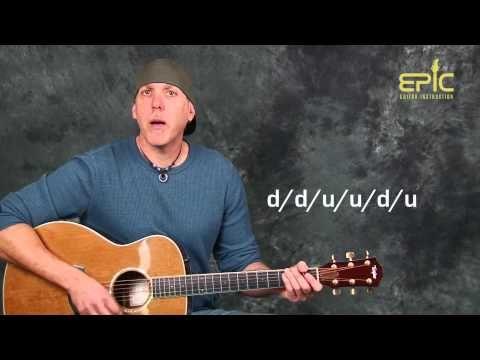 4) Acoustic guitar lesson learn Soul Asylum Runaway Train EZ fun ...