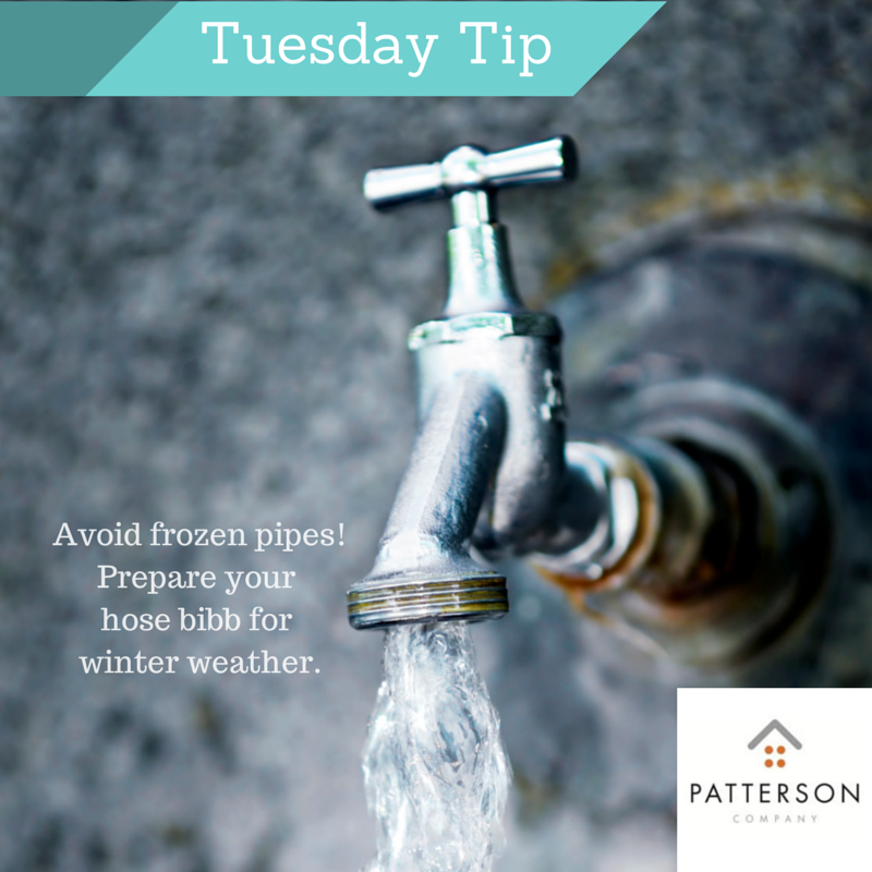 TUESDAY TIP: Whether you call it a hose bibb, a spigot, or a garden ...