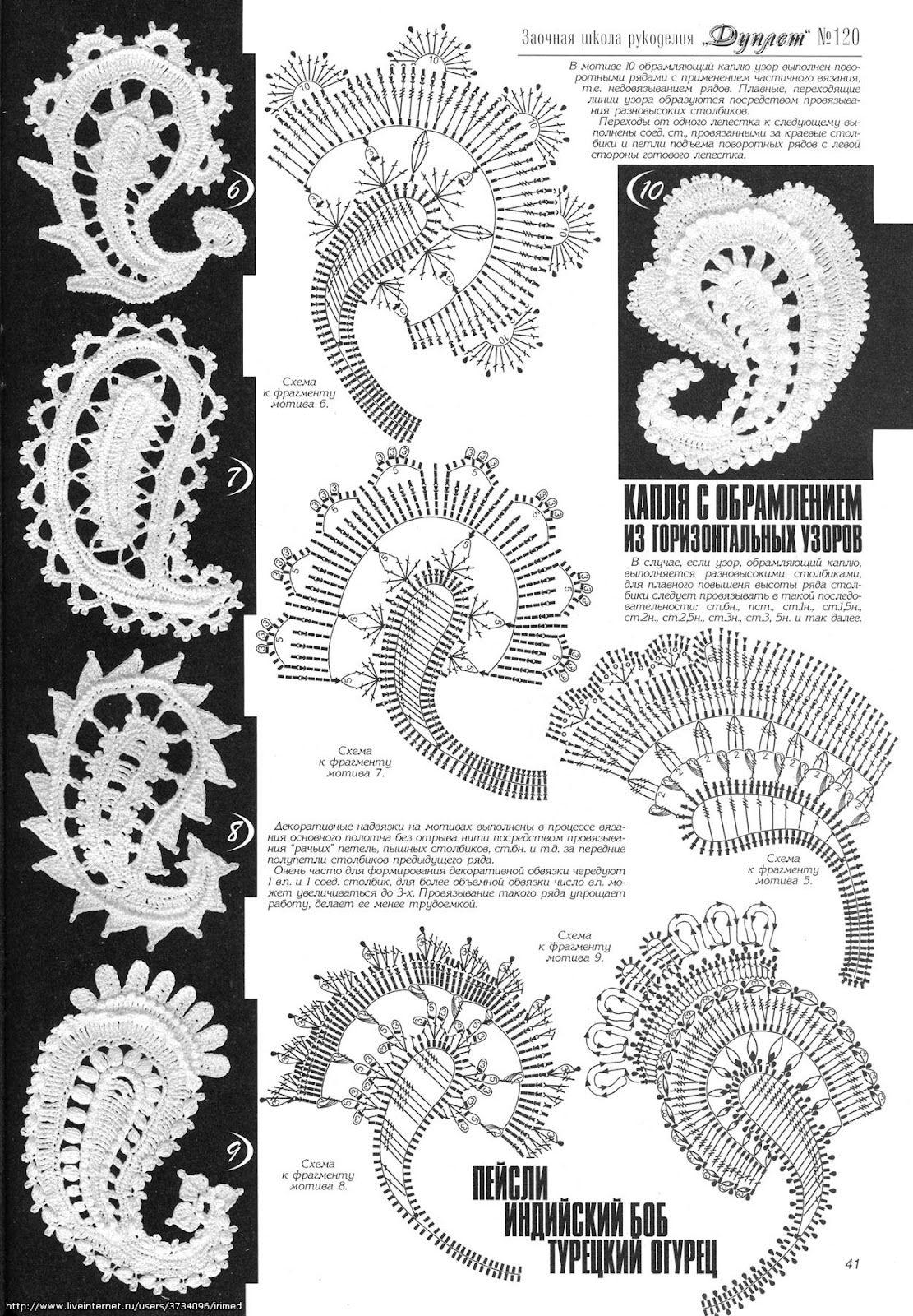 Outstanding Crochet: Designer: Asia Valeeva   refashion   Pinterest ...