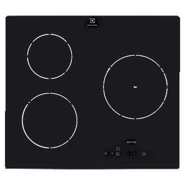 nice table de cuisson à induction electrolux e6203iok - conforama