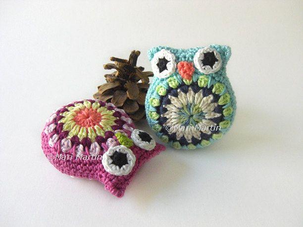 Crochet Owl Pattern Amigurumi Toy Make Your own Owl by MariMartin, $4.10