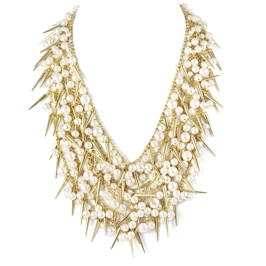 Sweet & Vicious III Necklace #k2oGLAM #necklace #SweetandVicious http://shop.k2obykarenko.com/collections/k2oglam/products/sweet-vicious-3-necklace