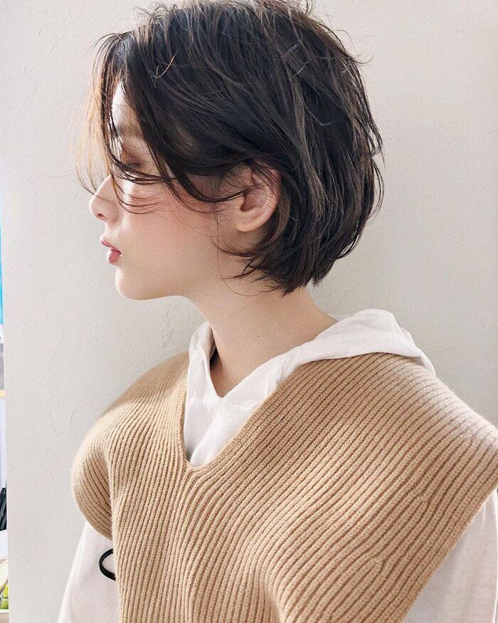 髪の悩みをカバーしながらおしゃれに見せる「大人ショートヘア」カタログ | キナリノ