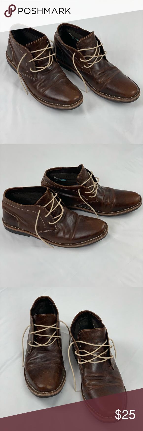 Men's Steve Madden Dress Boots. Size 16