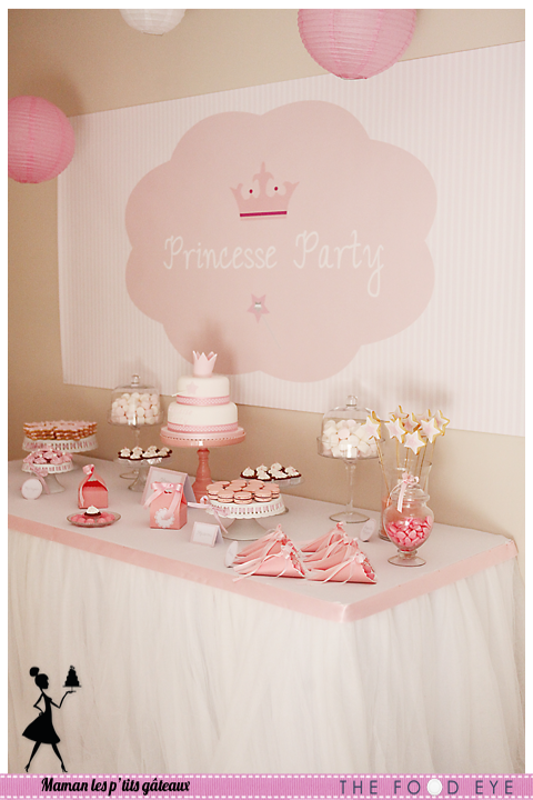 sweet table princesse party