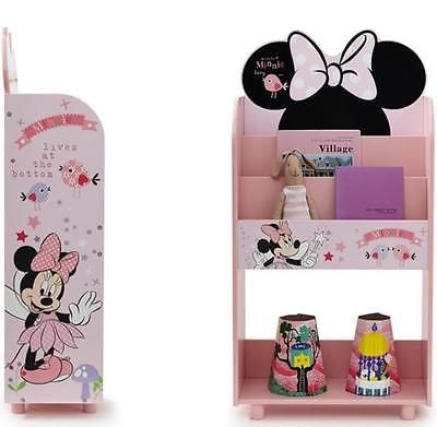 Disney Kids Bookshelf Mickey MouseMinnie Bookcase Boy Girl Room