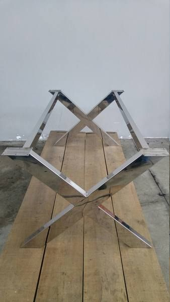 28 H X 35 W X 52 L X Frame Wide Table Base Steel Height 26