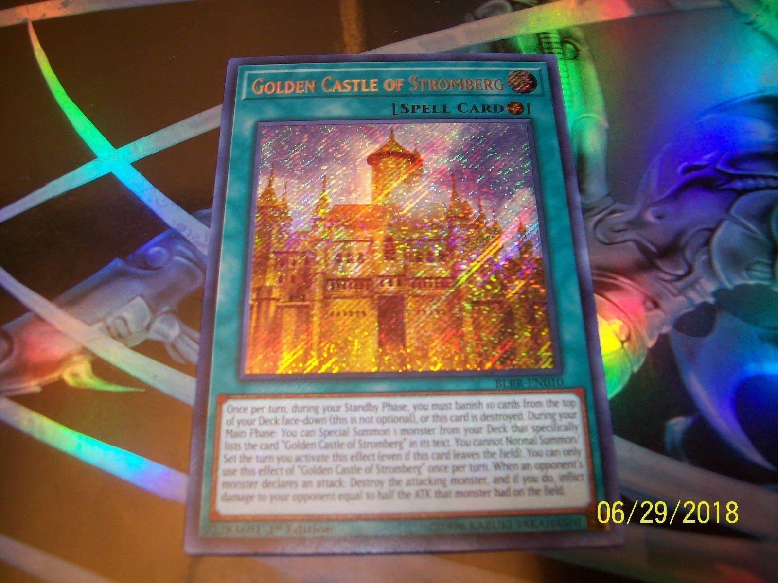 Golden Castle of Stromberg 1st Edition Secret Rare BLRR