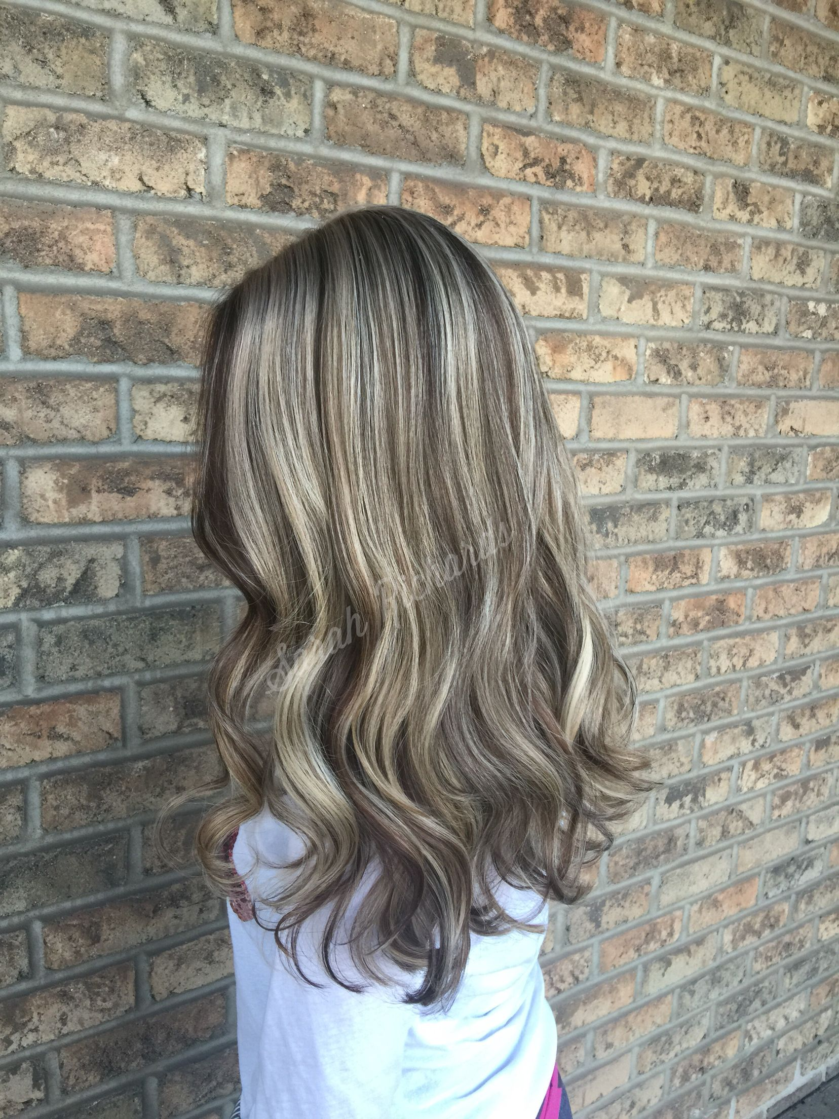 Blonde Highlights With Dark Brown Low Lights Low Lights Hair