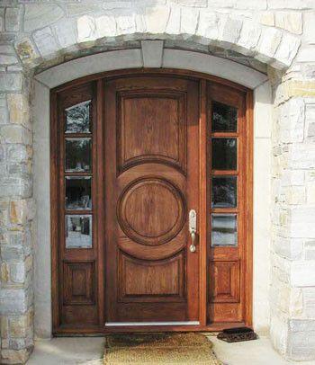 Harvest Creek Millwork Solid Wood Door - traditional - front doors - solid-wood-doors.com & Harvest Creek Millwork Solid Wood Door - traditional - front doors ...