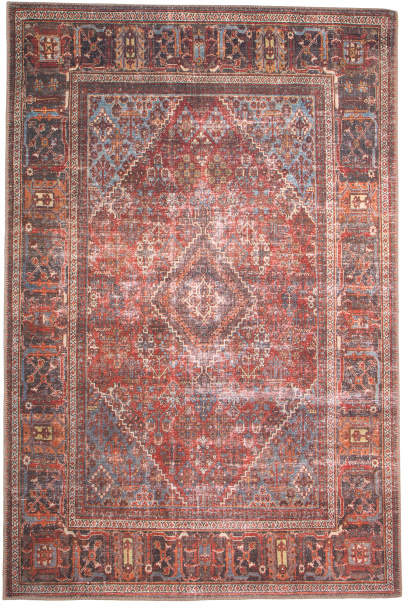 Made In Turkey 5x7 Printed Flat Weave Area Rug Area Rugs Rugs