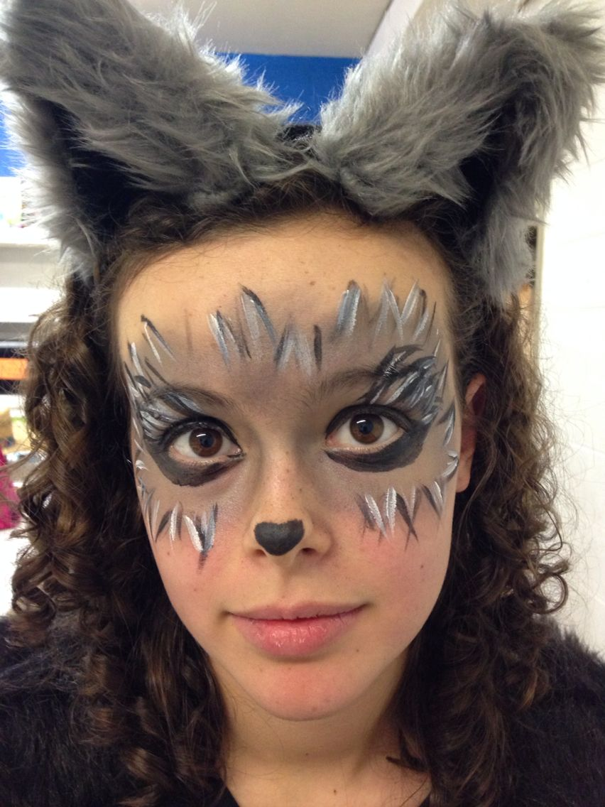 Toto Wizard of Oz make up. Snazaroo face paint | Nurse Crimson ...