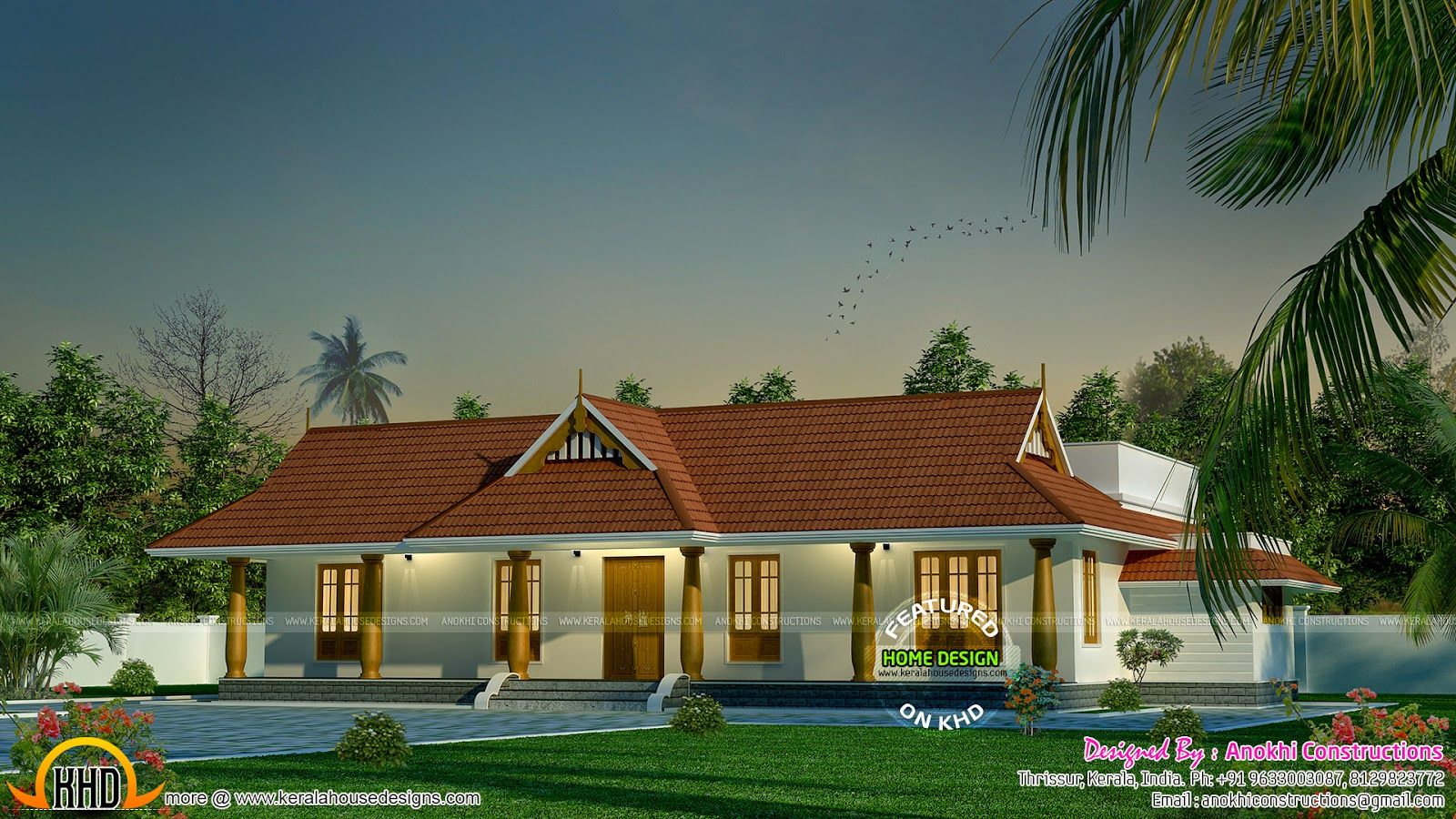 kerala style house jpg 1 600 215 900 pixels with images