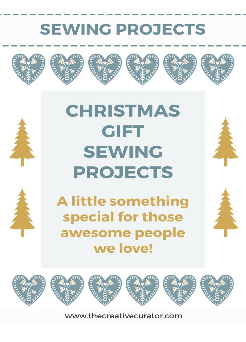 Christmas Gift Sewing Projects | Project projects, Sewing projects ...