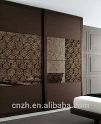 Bedroom Wardrobe Doors Designs Extraordinary Image Result For Glass Wardrobe Door Designs For Bedroom Indian 2018