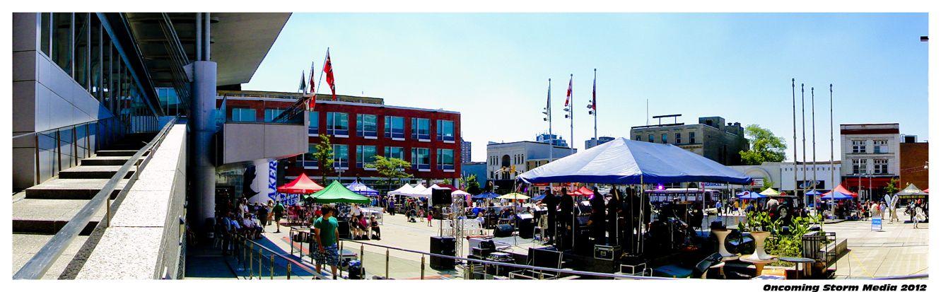 Kitchener City Square @ 100