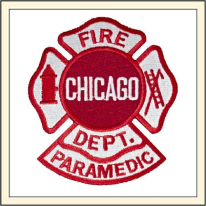 Chicago Fire Dept Maltese Paramedic Patch Maltese Chicago