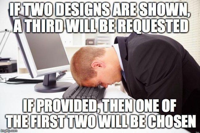 70b2d2ddd2aac37661c26e2591a56b85 graphic designer memes same goes for recruiters and presenting