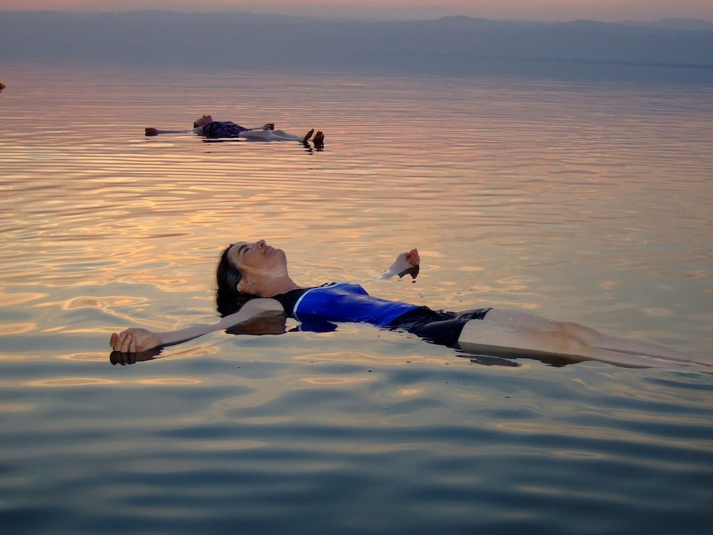 A float on the Dead Sea, 2009