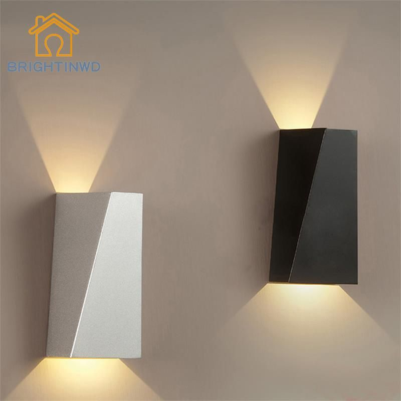 Superb AC85 265V10W Led Wall Lamp Living Room Wall Light Sconces,Black/White Sqaure Design Inspirations
