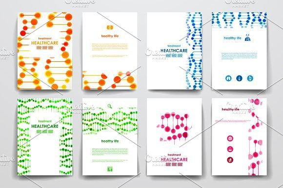 Healthcare Brochures Templates Creative Business Card Templates