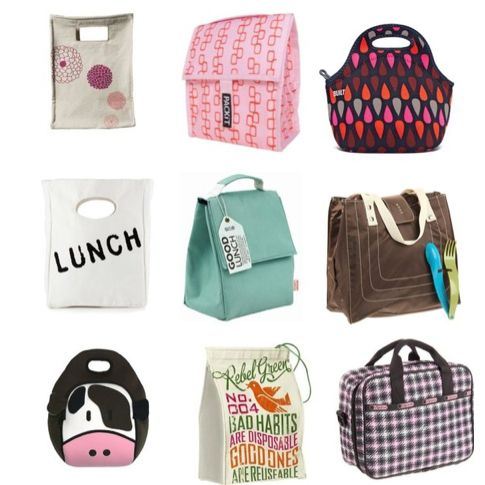 9 Fashionable Lunch Bags To Bring Work