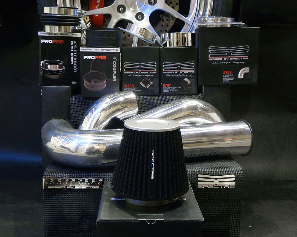 Air Intake Tubes and Components from Spectre Make a LS