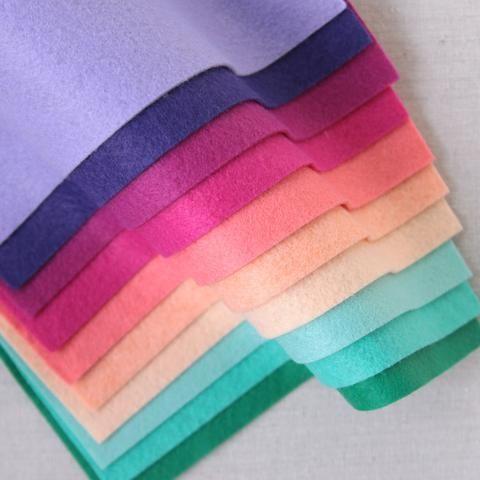 Purple Wool Blend Felt Wool Felt Felt Wool
