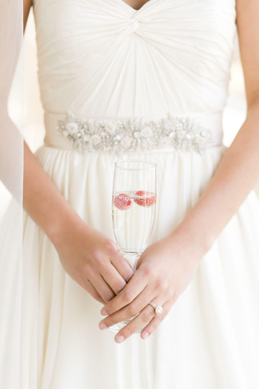 Photography: Amalie Orrange Photography - amalieorrangephotography.com  Read More: http://www.stylemepretty.com/southeast-weddings/2014/04/18/raspberry-striped-wedding-inspiration/