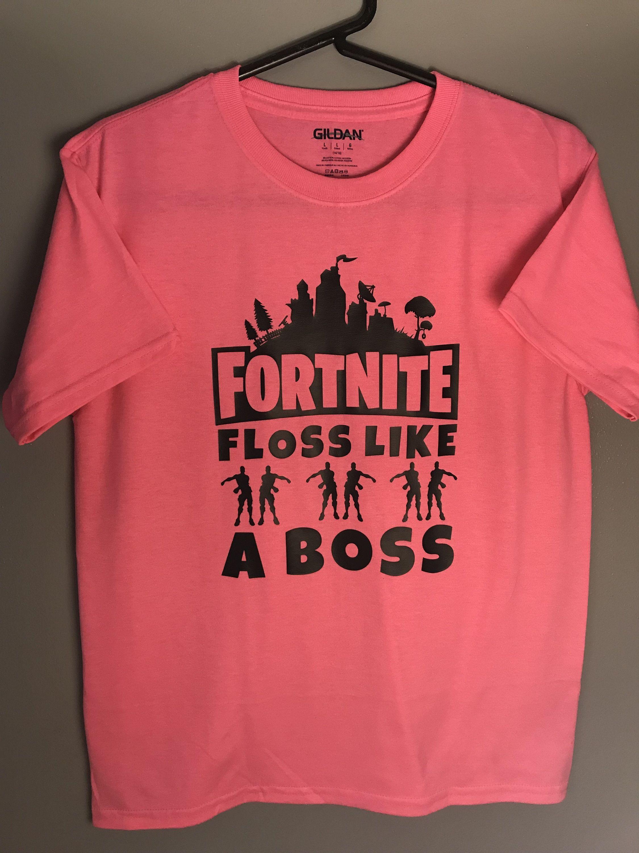 07d6d97f1 Fortnite Floss Like A Boss Fan Unisex Gamer T-Shirt by HappyKittyCuts on  Etsy