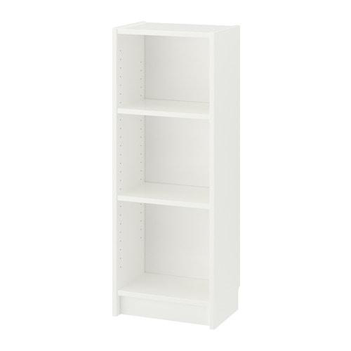 Billy Bookcase White 15 3 4x11x41 3 4 Ikea In 2020 White Bookcase Ikea Billy Bookcase White Bookcase