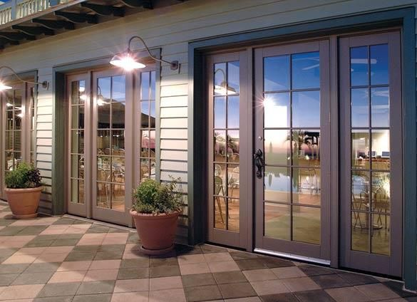 Ultra Series Swinging Patio Door with Sidelites by Kolbe Single unit with door or french doors & Ultra Series Swinging Patio Door with Sidelites by Kolbe Single ... pezcame.com