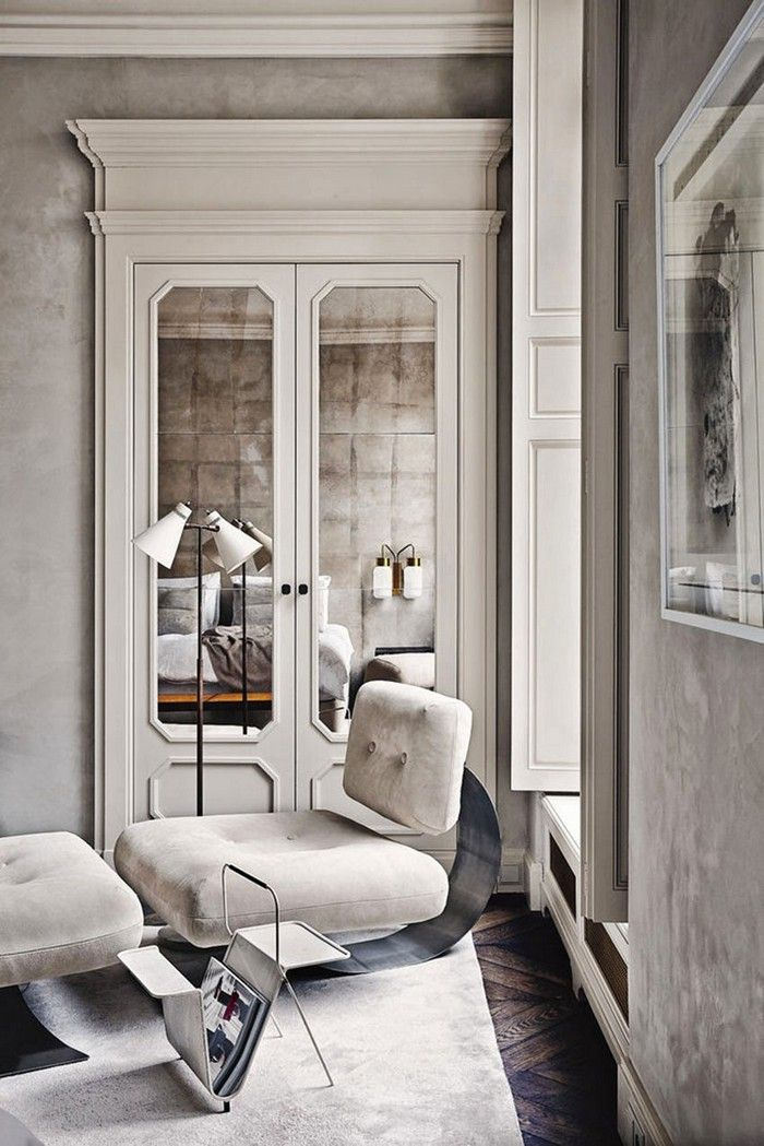 Effortless Chic Interiors With Modern French Style Modern French Interiors Parisian Interior French Interior