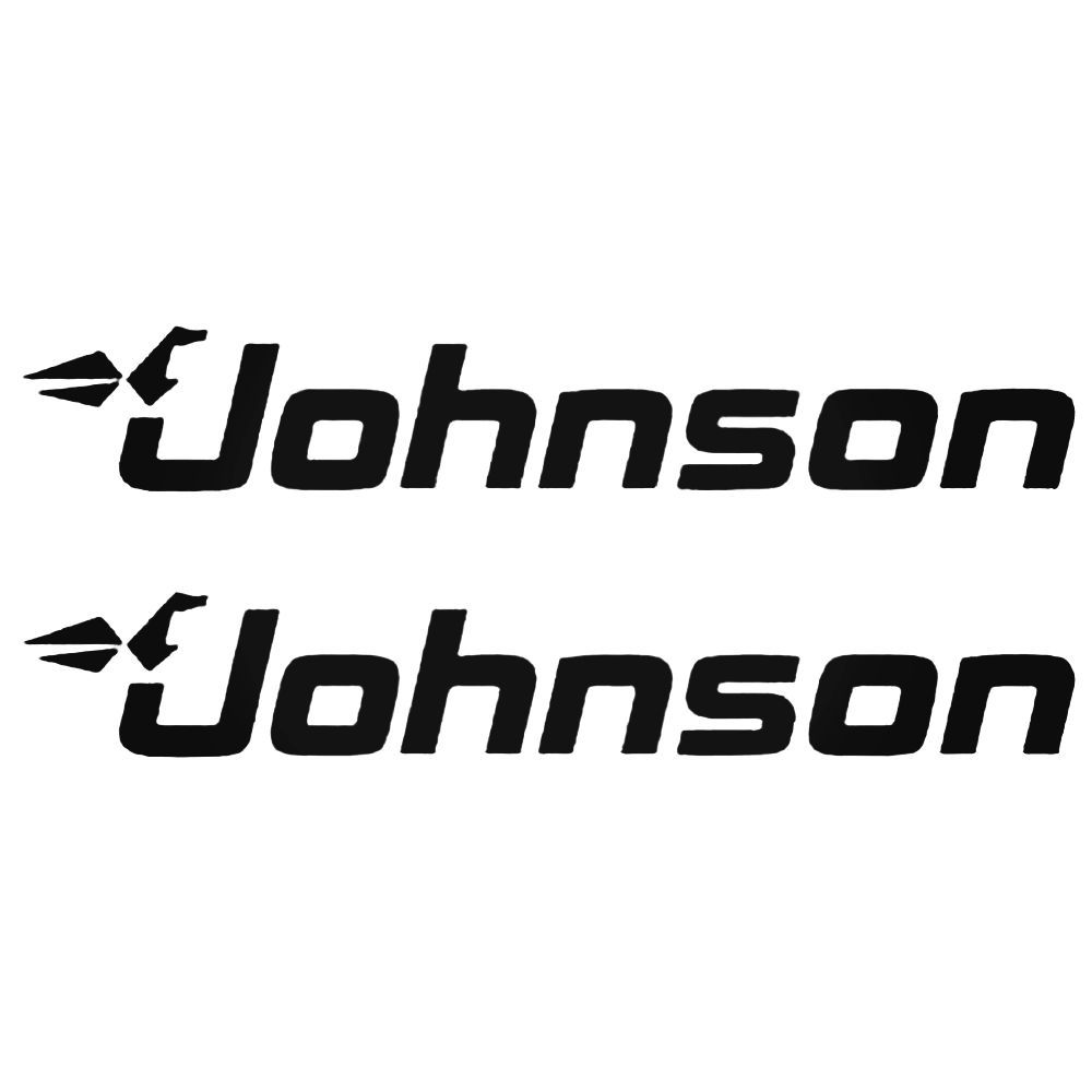 Johnson Outboard Boat Motor S Decal Sticker BallzBeatz