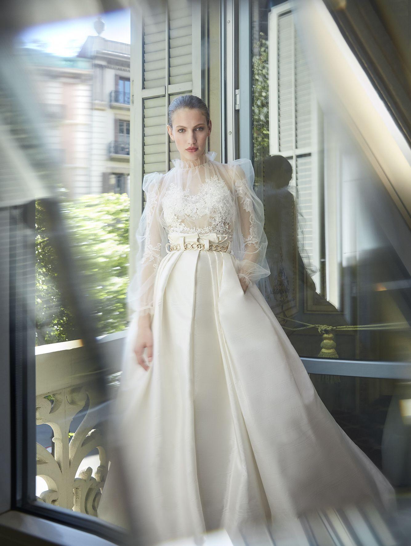 Yolancris highfashion couture brides wedding