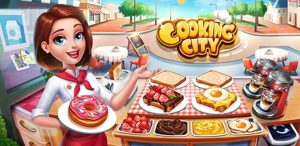 Cooking City crazy chef' s restaurant game trong 2020