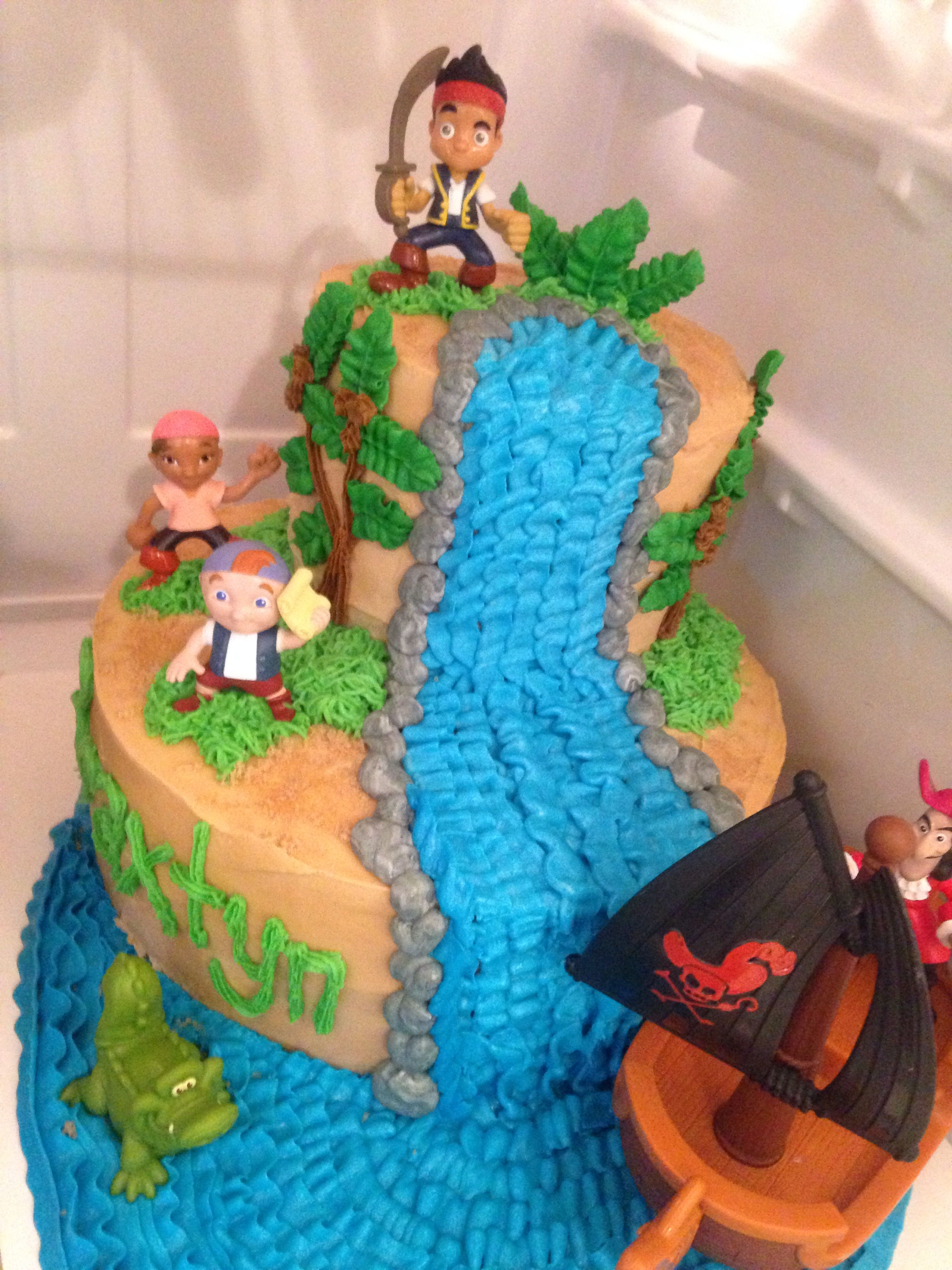 Jake And The Neverland Pirates Cake My Cakes Party