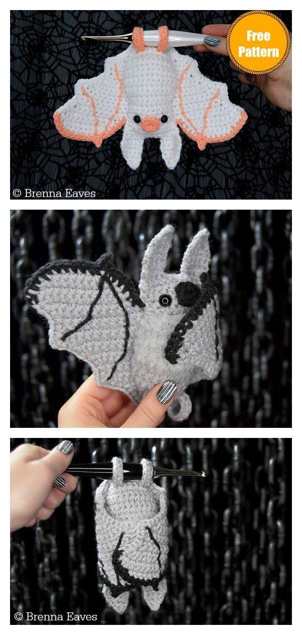 Amigurumi Little Bat Free Crochet Pattern