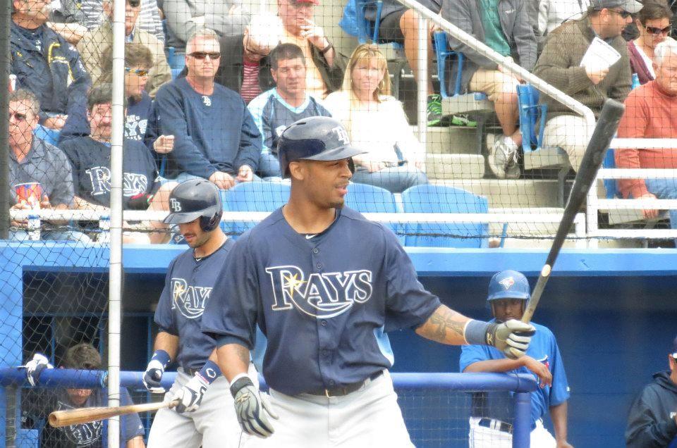 Desmond Jennings, Tampa Bay Rays Spring Training
