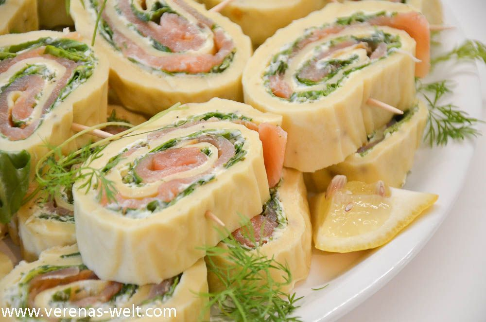 Photo of Salmon Cream Cheese Rolls | ° Verena's world °