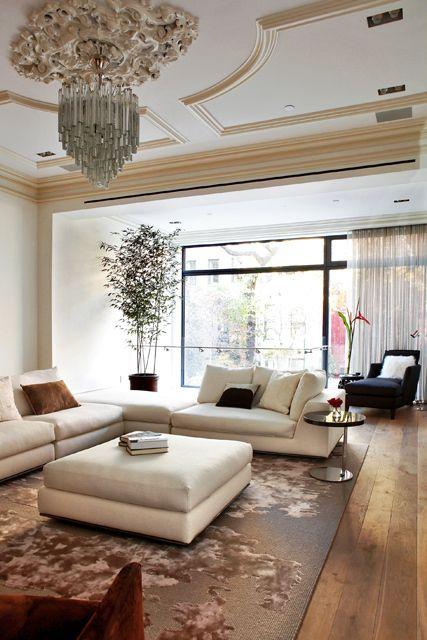 Townhouse Living Room Design: Living Room Decor Inspiration