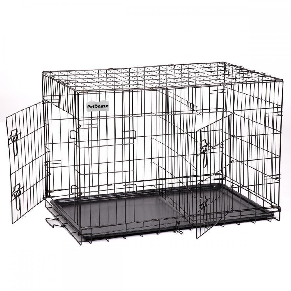 Petdanze Extra Large Dog Kennels Xxl Pet Carrier Travel Cage Indoor Outdoor Outside Collapsible Portable Fol Extra Large Dog Kennel Large Dog Crate Dog Cages