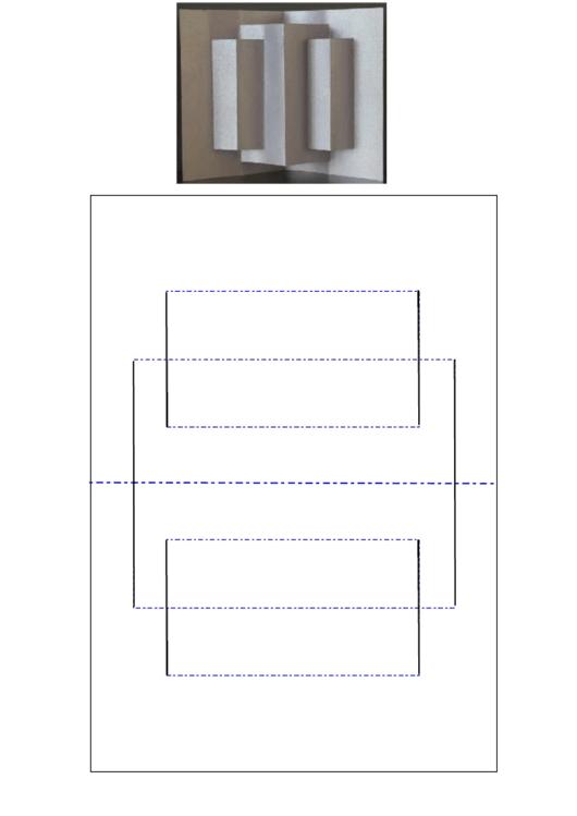 A6 Pillar Pop Up Card Template Printable Pdf Pop Up Card Templates Pop Up Cards Card Templates Printable