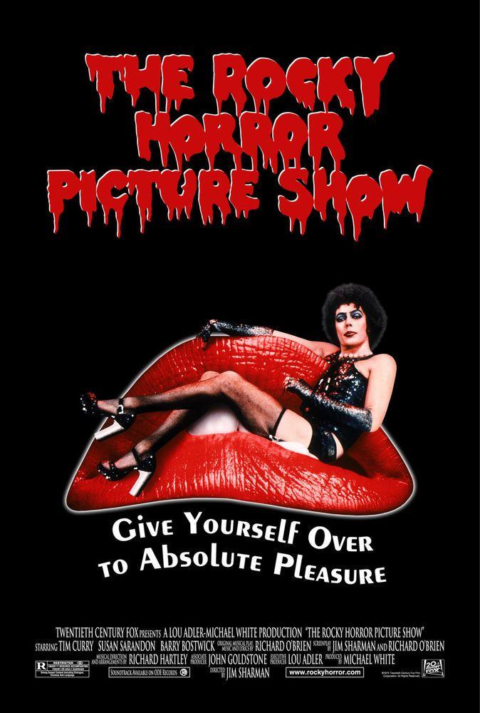Rocky Horror Picture Show Movie Poster Canvas Prints Fridge Magnet 6x8 Large